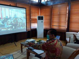 Pjs Bupati Sintang Ikuti Audiensi WRI Secara Virtual