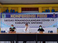 Kasus Terkonfirmasi Positif Covid-19 di Sintang Meningkat