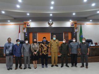 Bupati Sintang Terima Kunker Komisi I DPRD Kalbar