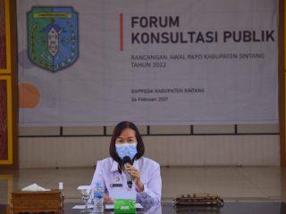 Pimpin Rapat Penyusunan RKPD, Plh Bupati Sintang Sampaikan Ini