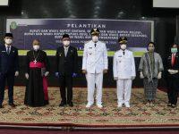 Jarot-Sudiyanto Resmi Dilantik Jadi Bupati dan Wakil Bupati Sintang