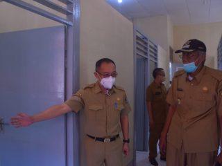 Bupati dan Wakil Bupati Sintang Tinjau Kesiapan RIM Pasien Covid-19 di Mess Diklat BKPSDM