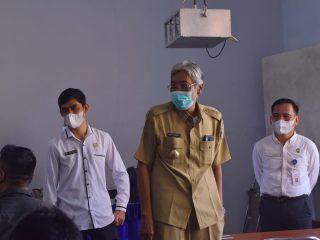 Bupati Jarot Tinjau Test Seleksi Bakal Calon Kades di Unka Sintang