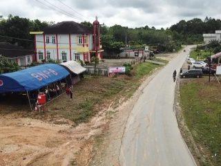 Tim Satgas Aktifkan Posko Covid-19 di Desa Sepulut