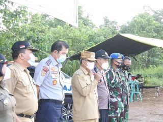 Wabup Sudiyanto Tutup Operasional Posko Covid-19 di Sepulut